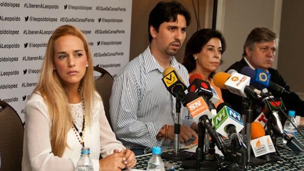 """La esposa del preso político venezolano denunció que """"está aislado desde el viernes"""" y pidió al régimen de Nicolás Maduro que presente una """"fe de vida"""" lo antes posible. Foto: Archivo"""