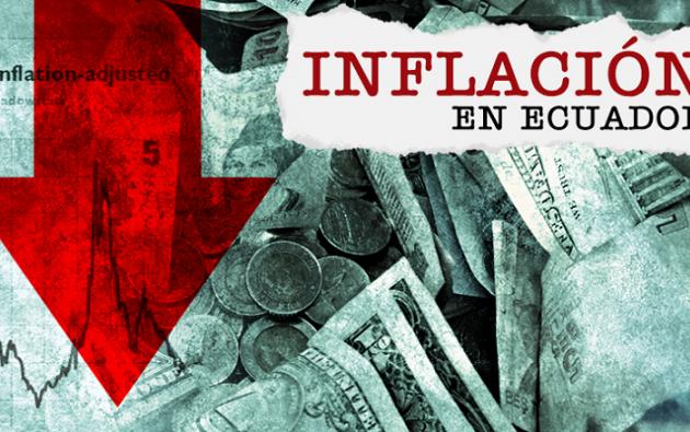 Según el informe del organismo, la inflación de octubre se ubicó en -0,08%. Foto: Ecuavisa.