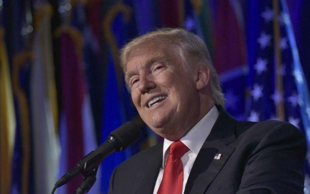 """EE.UU.- Trump hizo estas declaraciones en una entrevista para el """"programa 60 minutos"""" del canal CBS, programada para esta noche y cuyos fragmentos adelantó hoy la televisión. Foto: AFP"""