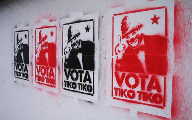 Así lucian los stencils pintados en diferentes calles de Quito | Fotos: Pablo Borlandelli (cortesía)