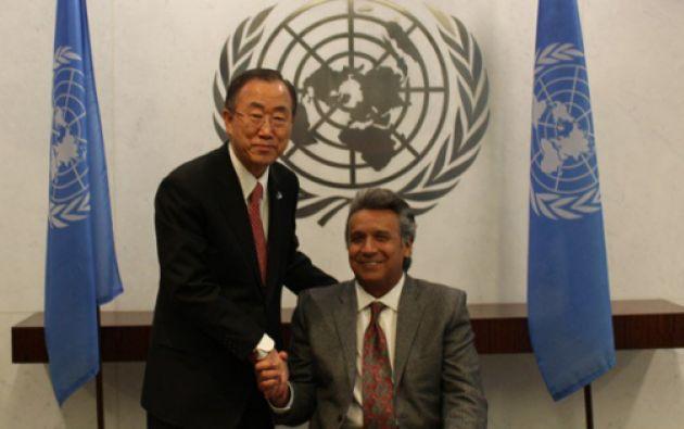 Moreno entregó el 1 de noviembre el informe final de sus labores en este cargo al secretario general de la ONU. Foto referencial: El Ciudadano.
