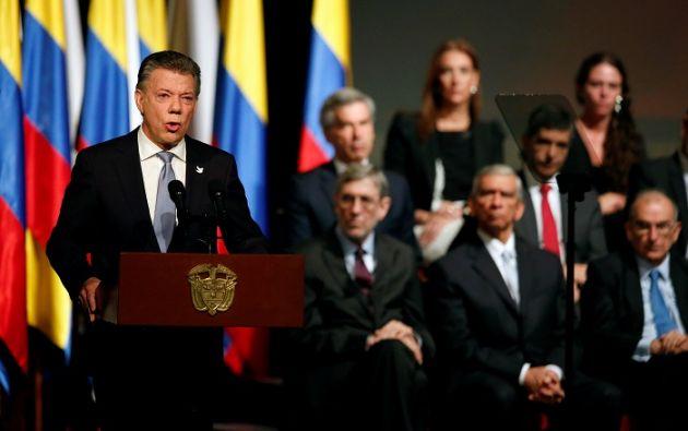 El pacto necesita de reformas constitucionales cuyo debate puede demorar más de un año. Foto: AFP.