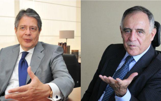 QUITO, Ecuador- Guillermo Lasso y Paco Moncayo son los candidatos a la presidencia por CREO y la Izquierda Democrática, respectivamente. Foto: Collage.