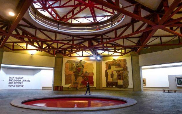 """QUITO, Ecuador.- La """"Capilla del hombre"""" es un majestuoso museo ubicado en uno de los cerros de la capital. Foto: El Ciudadano."""