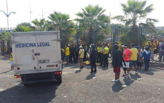 No se registraron reportes oficiales de la causa del fallecimiento previo al Clásico del Astillero. Foto: @paultutiven.