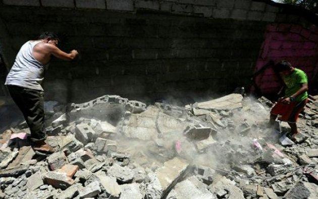 MANUAGUA, Nicaragua.- El terremoto del jueves 24 fue sentido en Costa Rica, Honduras y Nicaragua. Foto: Contacto Hoy.