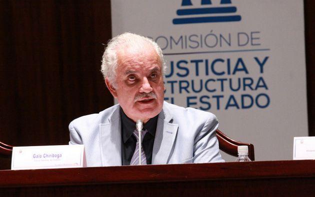 La Presidenta de la Comisión de Fiscalización aclaró que el llamado del Fiscal Chiriboga no responde a la solicitud de juicio político contra él.