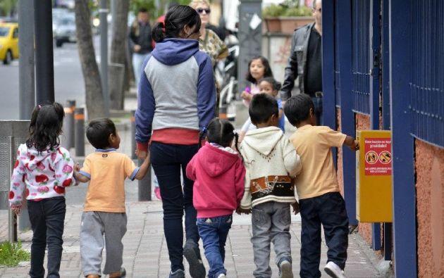 ECUADOR.- Según el ministerio de Justicia, hay aproximadamente 800 personas detenidas por apremio, es decir por adeudar pensiones alimenticias. Foto: Archivo