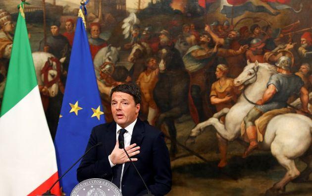 Con el objetivo de garantizar la estabilidad, Renzi aceptó permanecer unos días más en el poder de manera que el parlamento apruebe la ley de presupuestos para 2017. Foto: REUTERS.