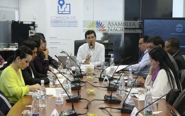 Miembros del Consejo de Administración Legislativa designaron a la Comisión de Gobiernos Autónomos para tramitar la Ley de Plusvalía. Foto: Archivo / Ecuavisa.