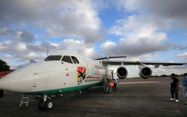 Un avión de la aerolínea Lamia. Foto : REUTERS.