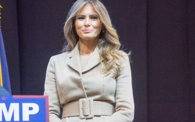 Melania Trump, de 45 años, fue descubierta por el fotógrafo Stane Darko. Foto: Agencias
