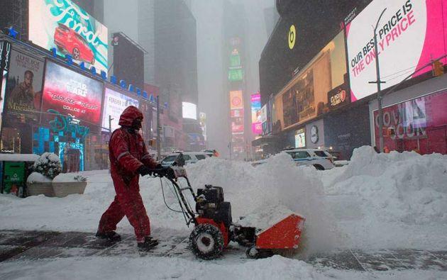 Los meteorólogos advierten de que las temperaturas pueden bajar aún más en la semana que entra. Foto: referencial
