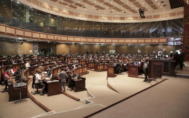 Hubo 78 votos a favor de 100 asambleístas presentes en el Legislativo, según la web de la Asamblea. Foto: Asamblea Nacional.