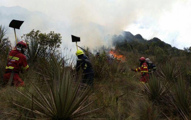 Fotos: Bomberos de Cuenca