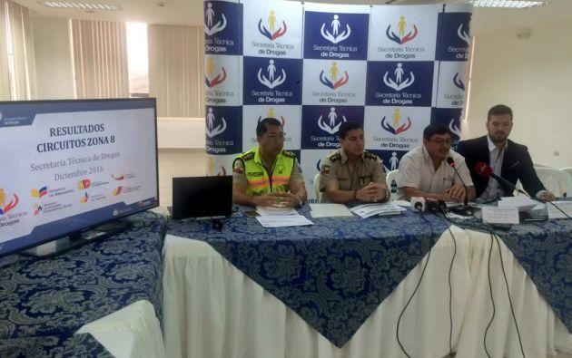 Foto: Secretaría Técnica de Drogas.