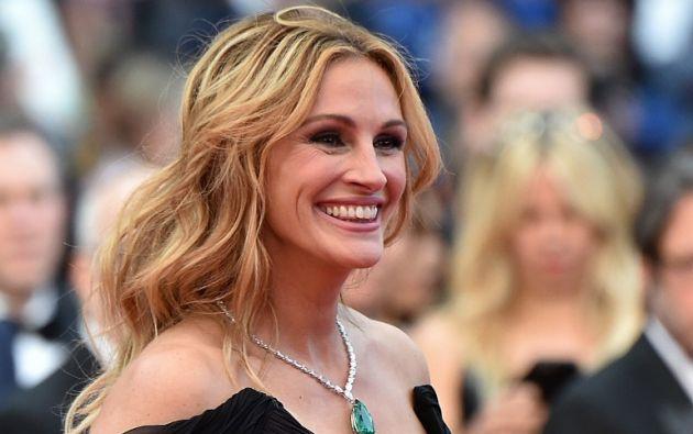 """Roberts, quien alcanzó la fama con su papel en """"Pretty Woman"""" (1990), es la última de las estrellas que han dado el salto a la pantalla chica. Foto: AFP."""
