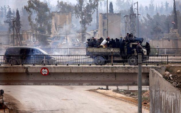"""El Comité Internacional de la Cruz Roja (CICR) confirmó la suspensión y pidió """"a todas las partes que hagan lo necesario para que la operación se reanude"""". Foto: REUTERS."""