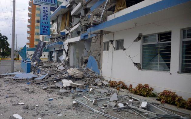 Tres muertos, 47 heridos y 700 familias damnificadas dejaron los 37 sismos más recientes. | Foto: Agencia API