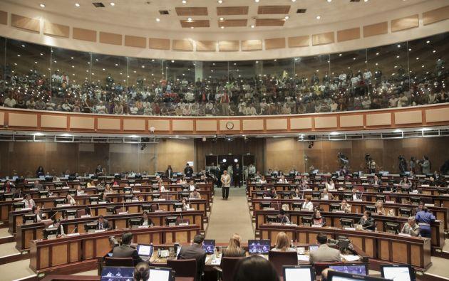 Luego de 6 horas de sesión, el legislativo retomaría el análisis del proyecto este jueves. Foto: Asamblea Nacional.
