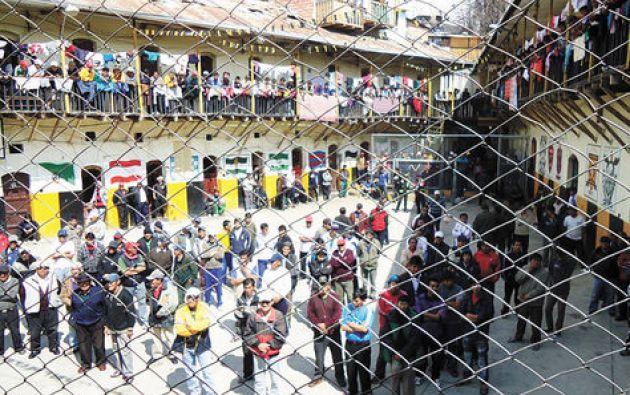 El interno ecuatoriano Darwin V., estaba recluido hace 7 meses en la prisión San Pedro. Foto: Tomada de la Razón