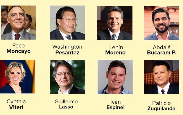 La firma Formación Gerencial analizó cuál fue el político más buscado en Internet. Foto: Collage