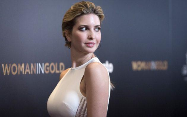 La hija de Trump, Ivanka, tendría un puesto el gobierno de su padre desde enero.  Foto: Tomada de Taringa.net