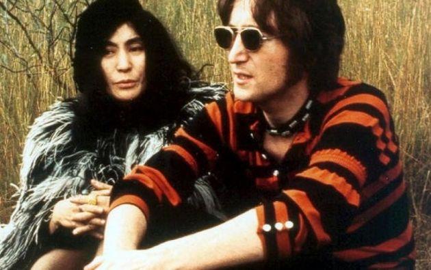 Yoko Ono y John Lennon estuvieron juntos durante 13 años. Foto: Tomado de Taringa.net