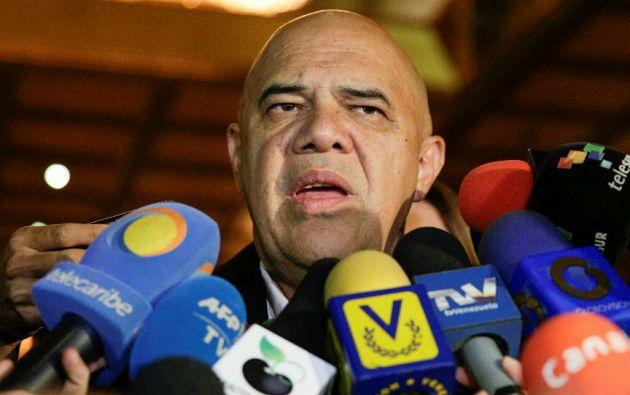 """o existen condiciones para restituir el próximo 13 de enero un diálogo directo entre las partes"""", advirtió el secretario de la coalición Mesa de la Unidad Democrática (MUD), Jesús Torrealba. Foto: Archivo / REUTERS."""