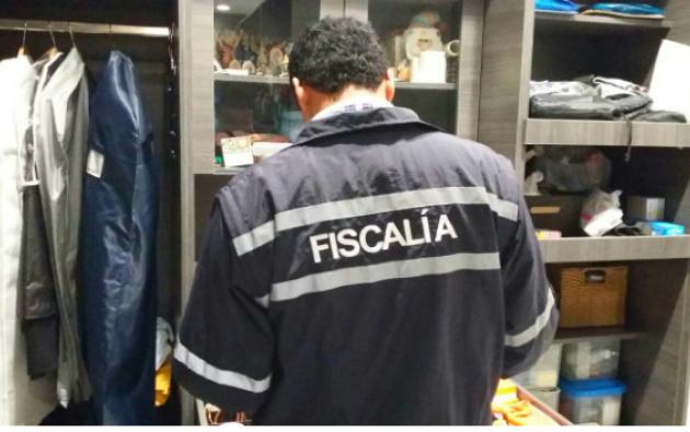 La Fiscalía dirigió un operativo sobre el caso Petroecuador la madrugada del lunes 26 de diciembre. Foto: Fiscalía