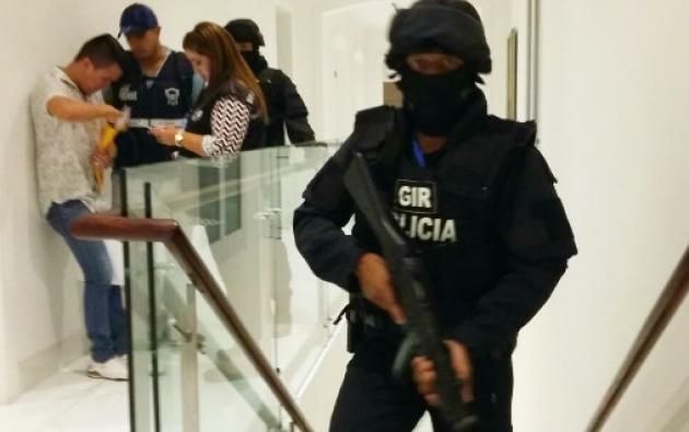 En el operativo del 26 de diciembre se allanaron 5 inmuebles de Carlos P.C. y de sus familiares. Foto: Fiscalía