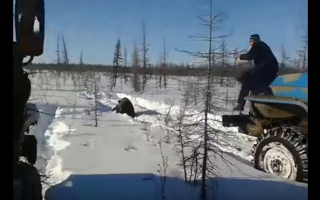 Fragmento del video que ha despertado polémica en Rusia. | Foto: captura de pantalla.