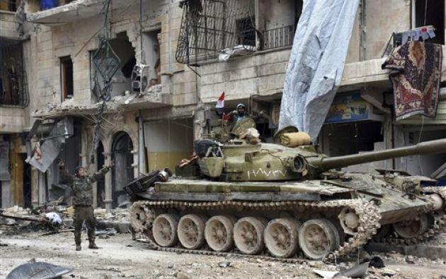 El cese de hostilidades se cumple en la mayoría de zonas de Alepo, pero no incluye a posiciones del Estado Islámico, según Turquía. Foto: Agencias