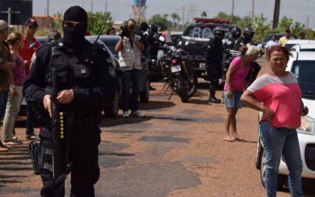 La cárcel de Roraima contaba con 1.400 internos, el doble de su capacidad.| Foto: Tomada de O Globo