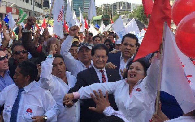 Washigton Pesántez fue el sexto candidato presidencial inscrito en el país. Su candidatura fue oficial en noviembre de 2016. Foto: Archivo