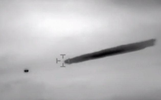 El objeto, que no fue explicado ni siquiera por el estudio de los servicios de la Aeronáutica Civil de Chile, flotó ante la cámara de un helicóptero militar durante unos 10 minutos.