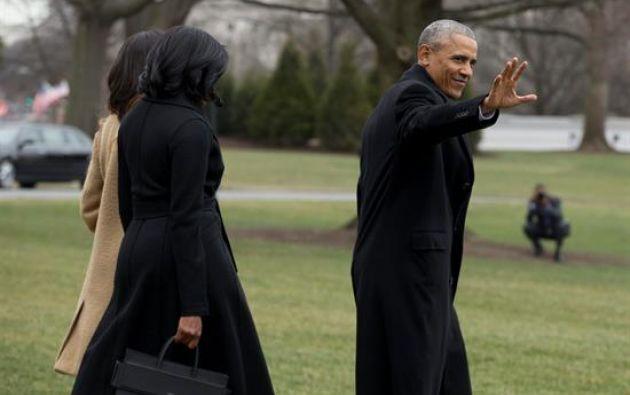 Si bien prometió un cambio de mando armonioso, Obama critica de manera creciente a Trump mientras se prepara para dejar el puesto el 20 de enero. Foto: EFE