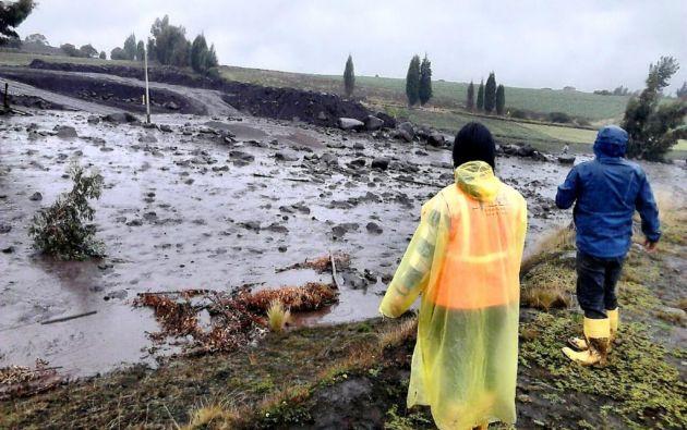 Según la Secretaría de Gestión de Riesgos, no se reportan daños en las viviendas. Foto: SGR.