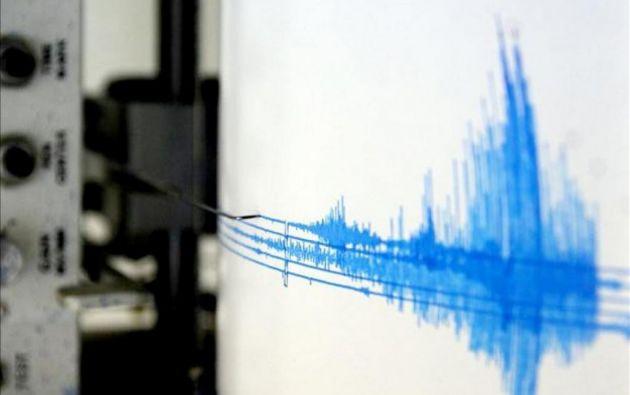 En las últimas horas se reportó un sismo de 5.2 de magnitud en Muisne. Foto: Referencial.