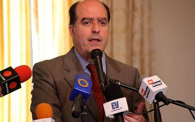 Borges, presidente de la Asamblea de Venezuela, rechazó la detención del diputado Caro. Foto: Tomada de LaPatilla.com