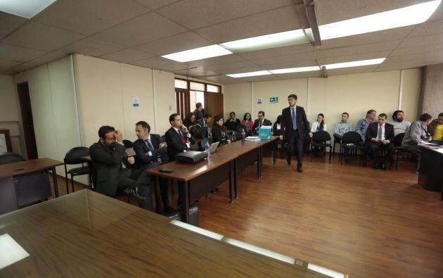 Hoy se tenía previsto instalar la audiencia preparatoria del delito de cohecho en el caso Petroecuador. Foto: API