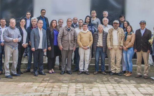 La jornada del 14 de enero terminó con comentarios positivos por parte de los dos sectores. Foto: Twitter / ELN Paz.