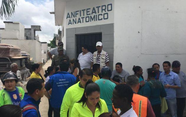 18 de los 20 fallecidos iban en un expreso escolar y se dirigían a un retiro espiritual. Foto: Fernando Terranova.