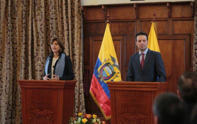 Foto: Twitter / Cancillería Ecuador.