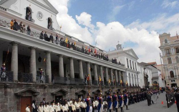 Con todos los insumos recibidos, el Presidente actual le entregará un documento final el Mandatario electo. Foto: El Ciudadano.