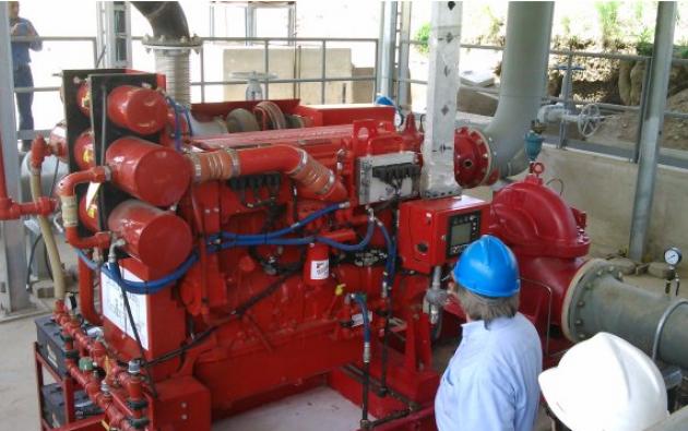 La empresa Tectotal fue contratada por Petroecuador para instalar un sistema contra incendios. Foto: Tomada de portal de la empresa.