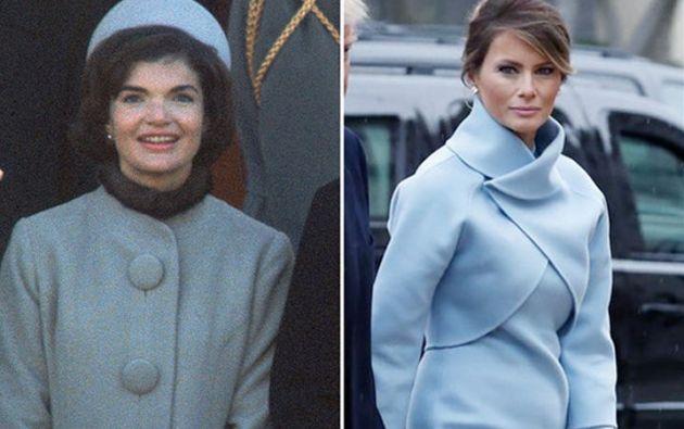Ralph Lauren es el diseñador en el que Melania confió para su vestido de asunción como primera dama de EEUU.
