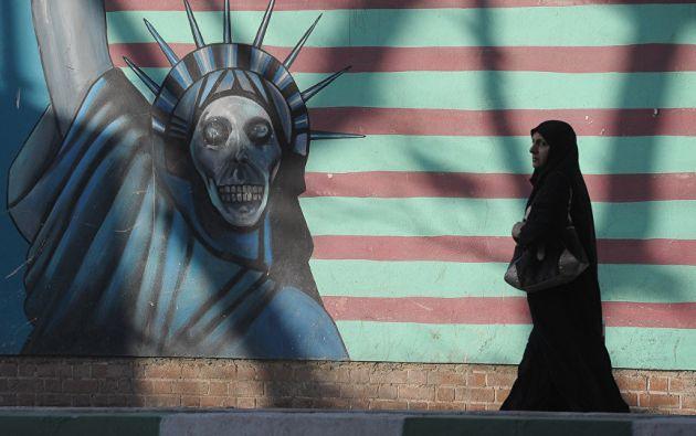 TEHERÁN, Irán.- Trump impulsa medidas de movilidad que afectan a ciudadanos de seis países además de Irán.  Foto: Tomado de Sputnik News.