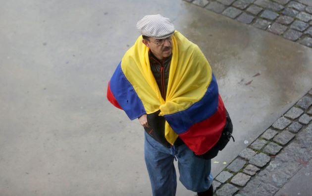 BARCELONA, España.- Migrante ecuatoriano transita por las calles de Barcelona, previo al enlace ciudadano. Foto: Tomado de Flickr Presidencia.