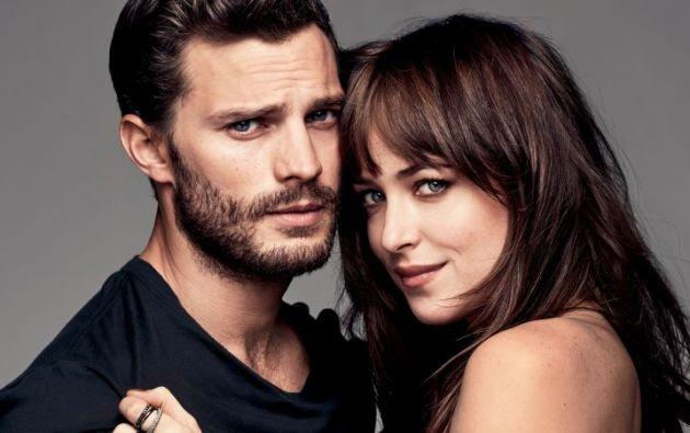 '50 Sombras de Grey' le mostró un universo sexual diferente, afirma Dakota Johnson, quien protagoniza la cinta junta a Jamie Dornan. Foto: TKM.